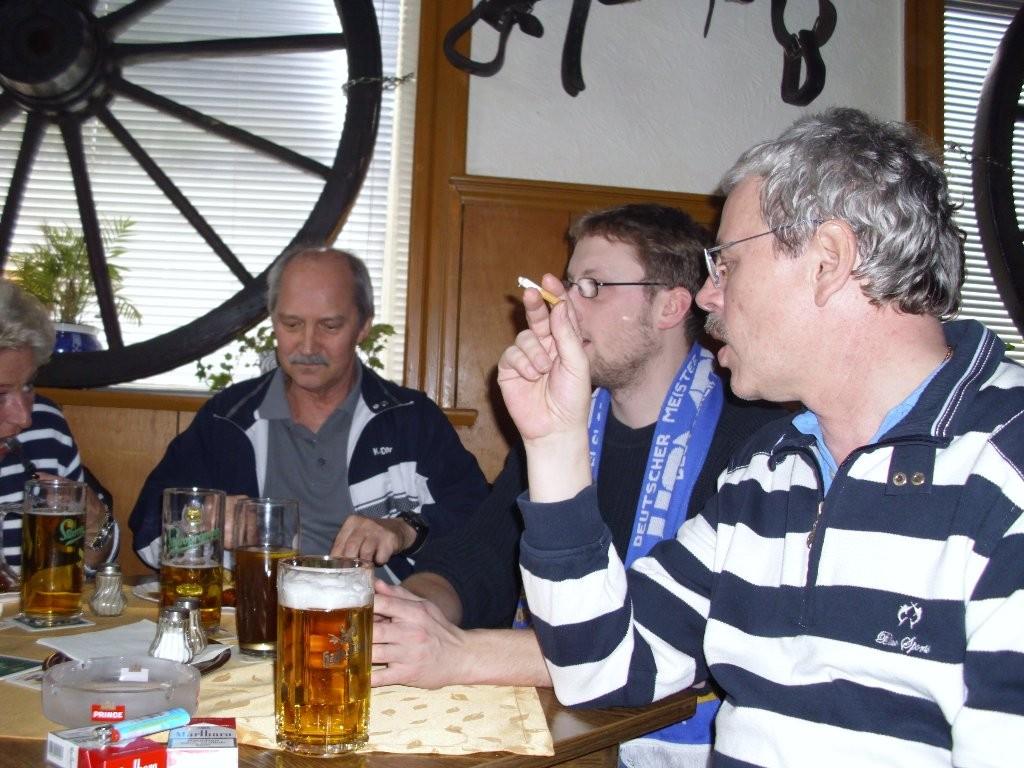 In Bergedorf Fußball gucken