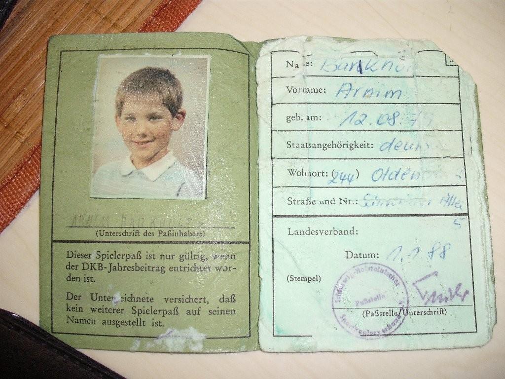 Arnim's erster Pass
