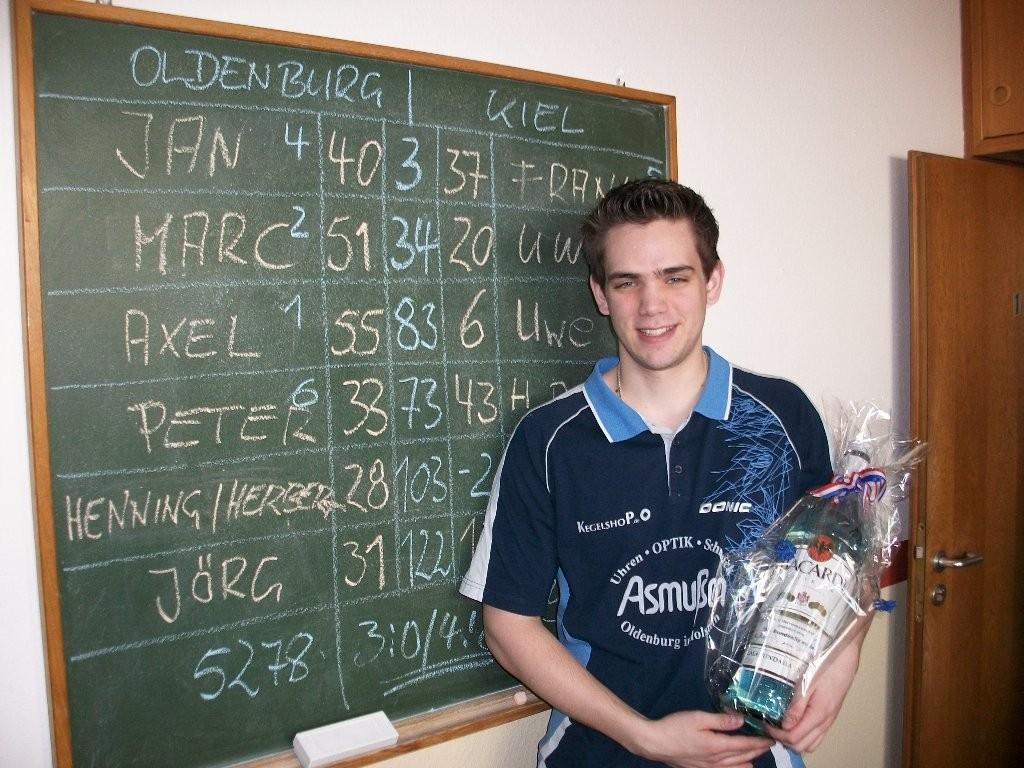 Marc's 100. Bundesligaspiel