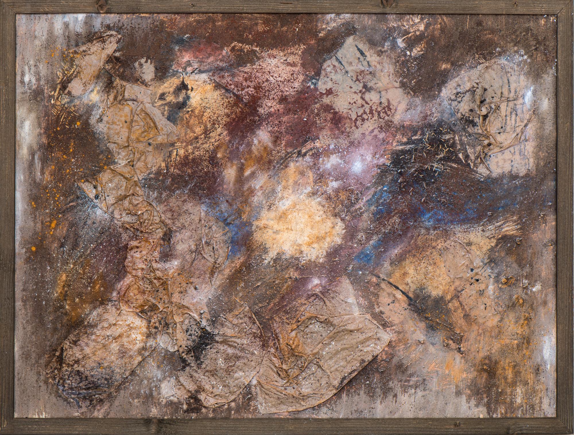 """""""mare nostrum I"""", Papier, Kreide, Pigmente; 60cm x 80cm"""