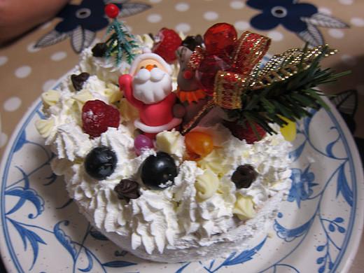 子供とケーキ作り