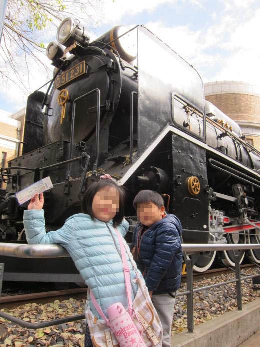 国立科学博物館の機関車