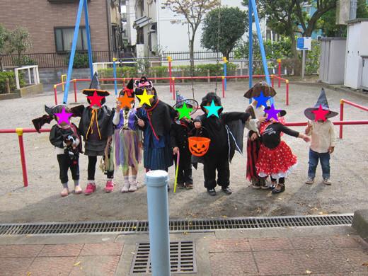 ハロウィンの子供たち