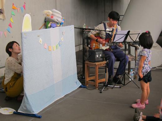 ライブ&人形劇 のりゆきおにいさんとうんころもちと毛玉ちゃん