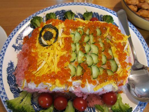 子供の日 ちらし寿司 鯉のぼり