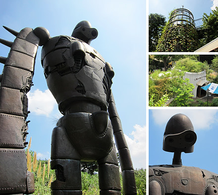 三鷹の森 ジブリ美術館 ラピュタのロボット兵