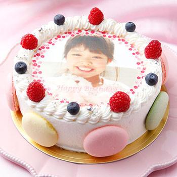 写真ケーキ バースデーケーキ