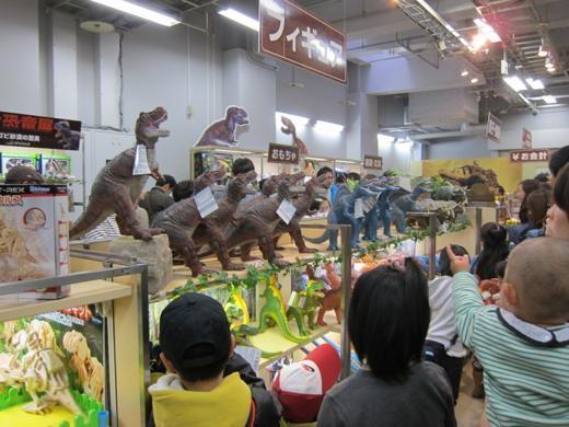お土産コーナー 大恐竜展
