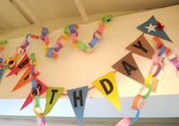 誕生会の飾りつけイメージ