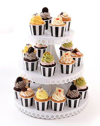 オシャレで可愛いカップケーキのセット