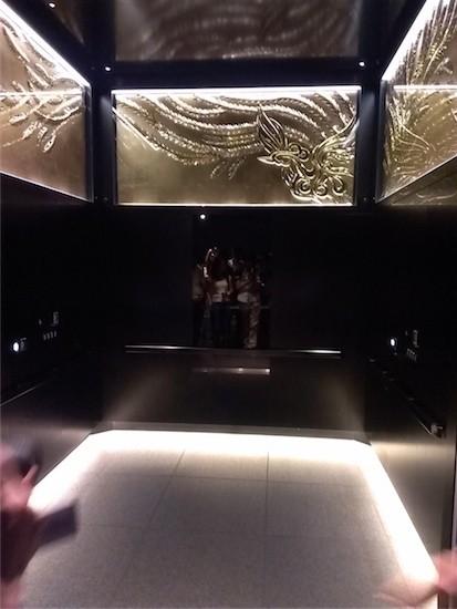 展望デッキ エレベーター