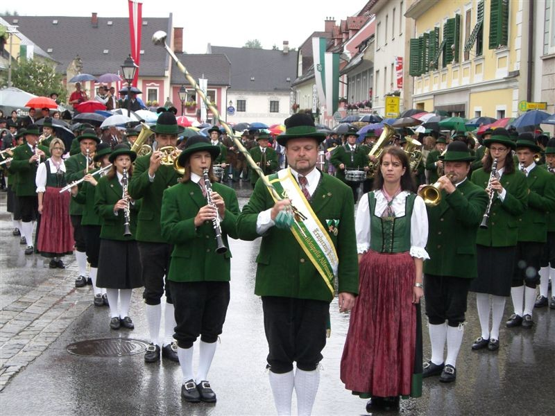 Marschmusikwertung - Bezirksmusikfest St. Gallen - Juli 2009