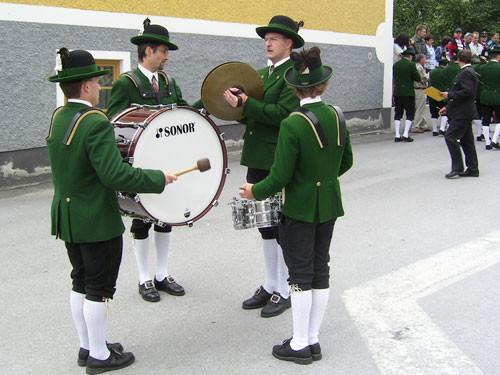 Marschmusikwertung - Bezirksmusikfest Ardning - Juli 2006