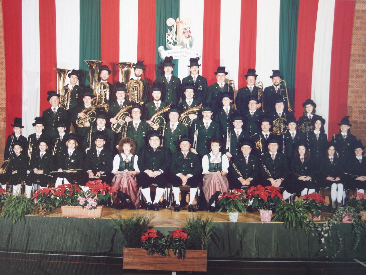 Erherzhog Johann Musikkapelle im Jahr 1993