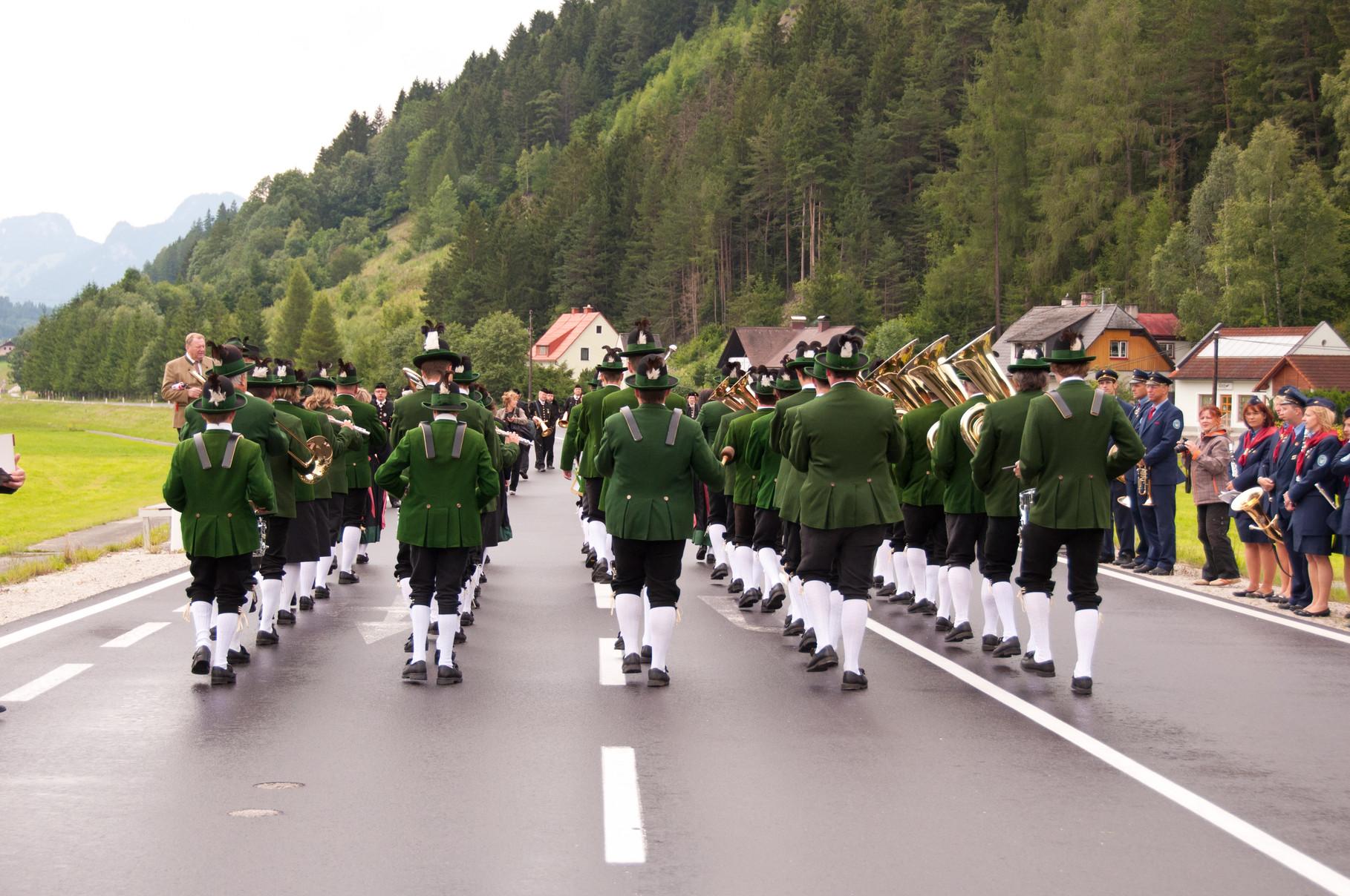 Marschmusikwertung - Bezirksmusikfest Lassing - Juli 2011