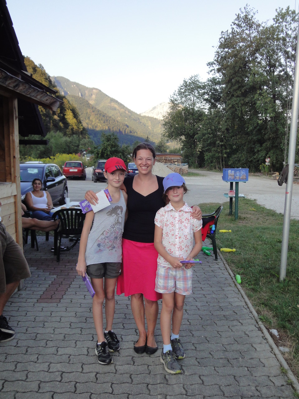 Team Gitti, Johanna, Emma