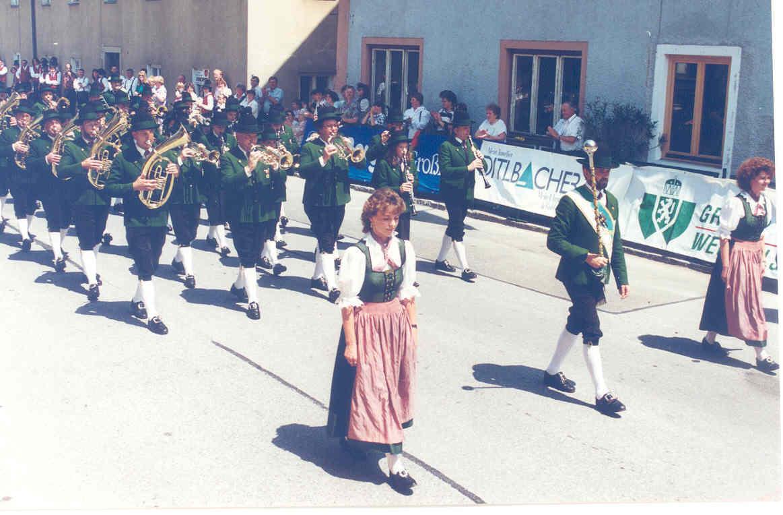 Marschmusikwertung - Bezirksmusikfest Altenmarkt - Juli 1995