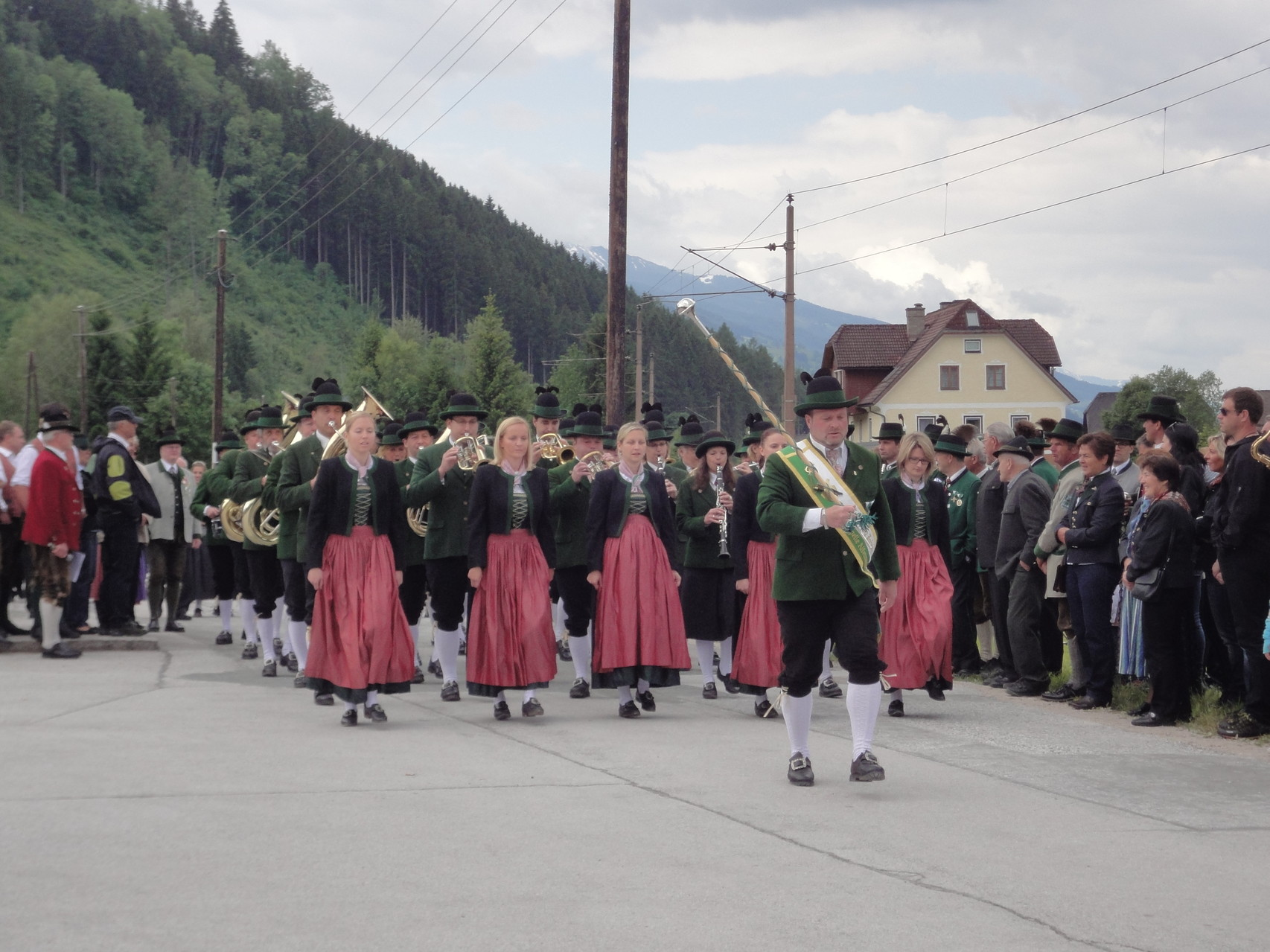 Marschmusikwertung Stein/Enns - Juni 2014