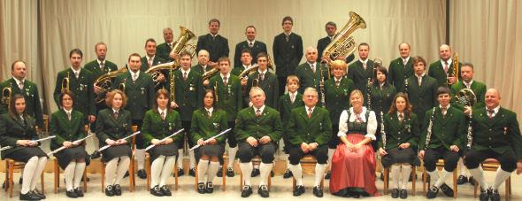 Erzherzog Johann Musikkapelle im Jahr 2007