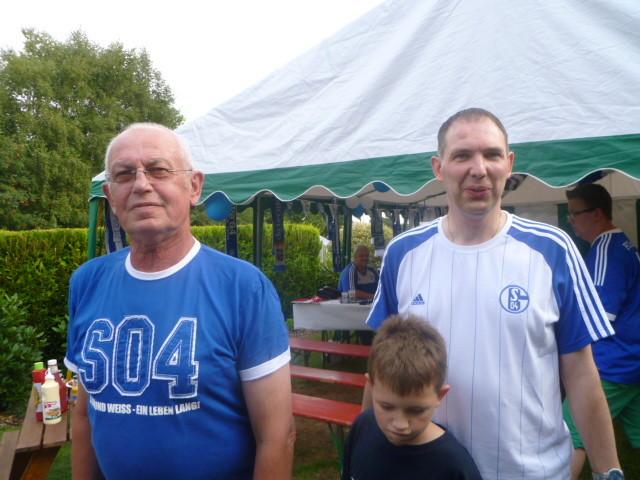 Joachim ,Walter und Fabie