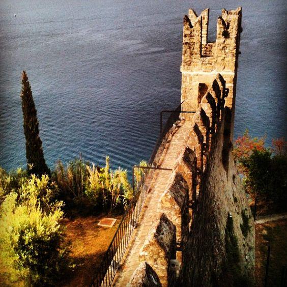 Il castello di Pirano - le mura