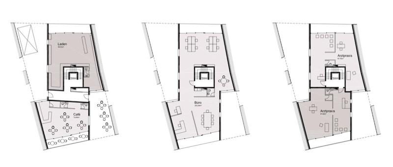 Erdgeschoss bis 2.OG