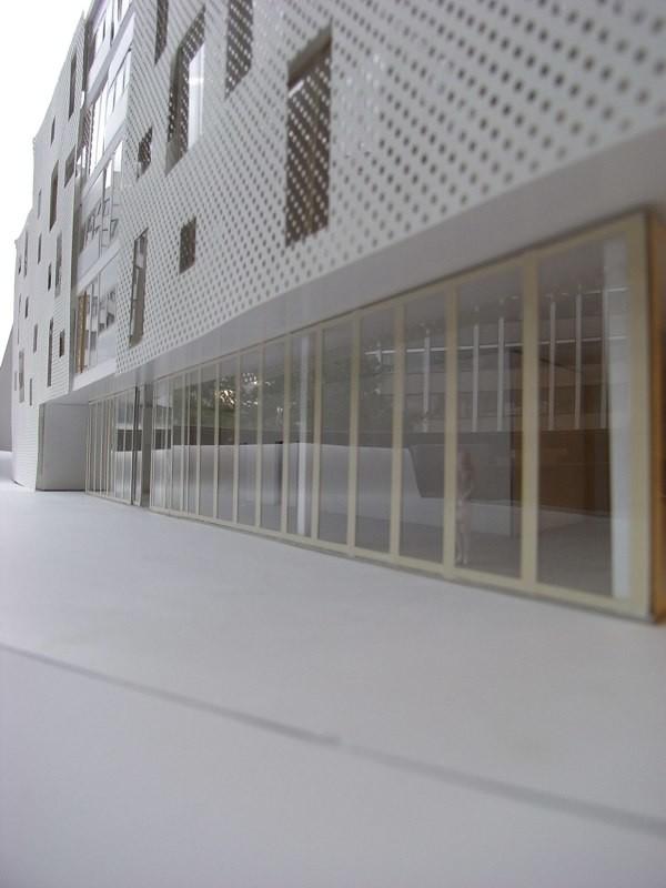 Modellfoto Erdgeschoss