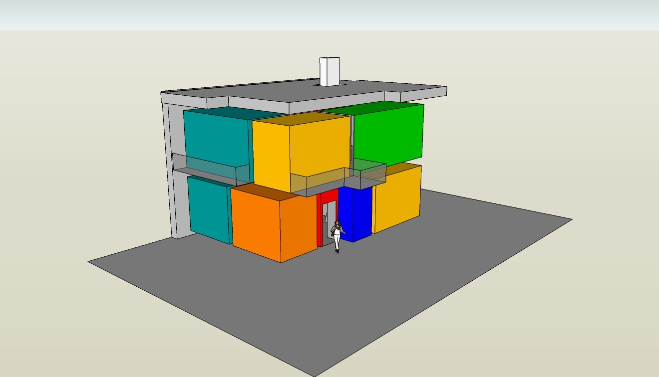 Rietveld - Haus Schröder