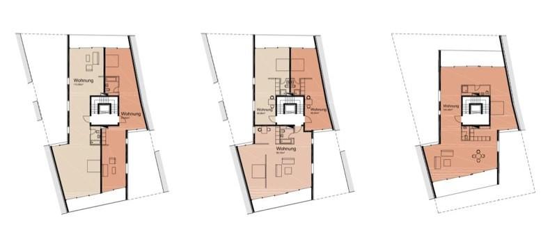 3.OG bis Dachgeschoss