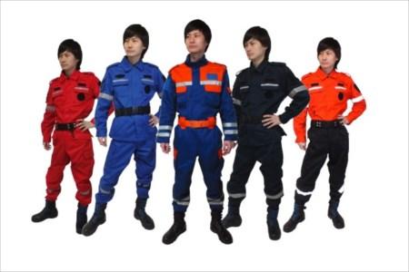災害時の誘導は普段着よりも特別な防災活動服がおすすめ