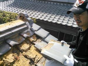 屋根の雨漏り修理 伊丹市