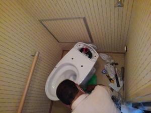 トイレの入替工事 尼崎市