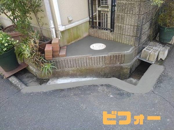 玄関先 お家周りの気になる箇所の修繕