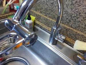伊丹市 キッチン水栓交換