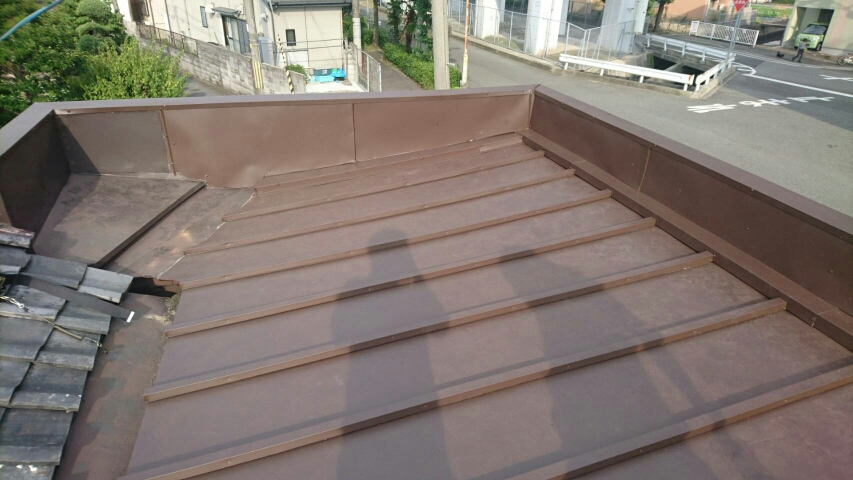 屋根 板金 リフォーム