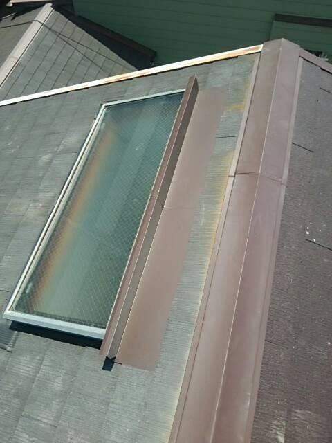 雨漏り修理 天窓