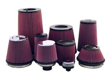gamme des filtres KN