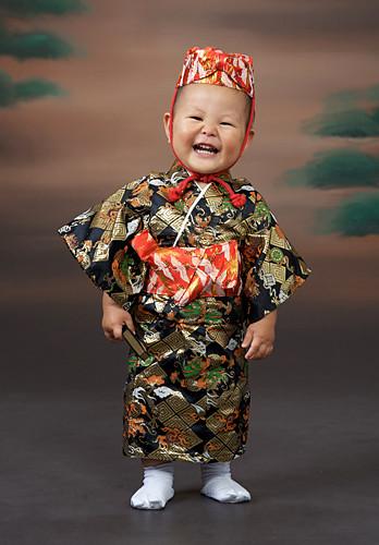 こども琉球衣装