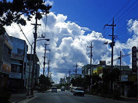 石垣島の入道雲