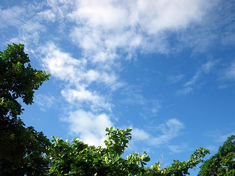 石垣島の空