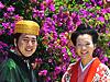 竹富島で結婚写真