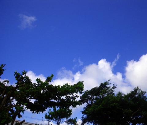 6月7日の空