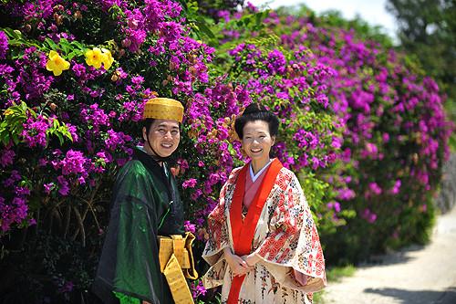 竹富島で結婚式