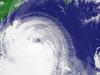 台風8号気象衛星