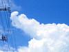 石垣の積乱雲アップ