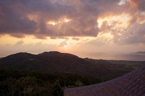 バンナの夕陽