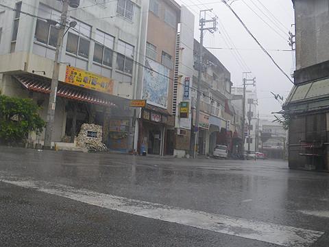 台風の石垣島
