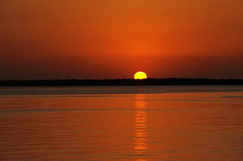 竹富島の夕陽