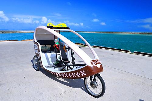小浜島 ベロタクシー