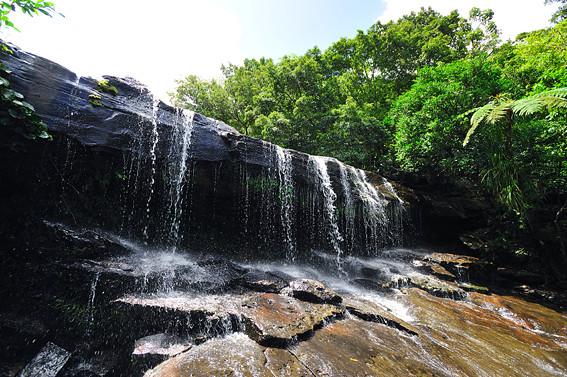 西表島・サンガラの滝